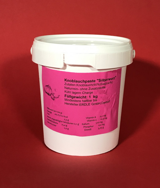 Knoblauchpaste 1 kg Dose